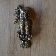 Brass Owl Door Knocker D187-1019
