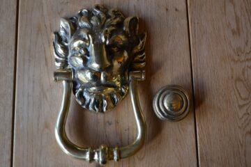 Lion's Head Door Knocker RD006L