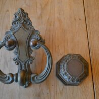 Edwardian Door Furniture Set D252L-1119