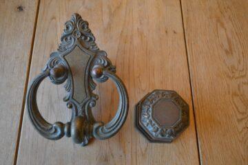 Edwardian Door Furniture Set D252L-1119