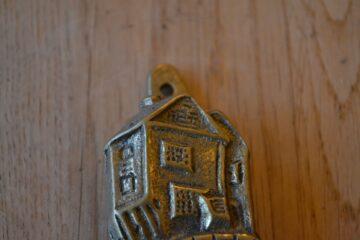 House on the Props, Polperro Door Knocker D598-1119