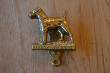 Airdale Terrier Door Knocker D607-1119