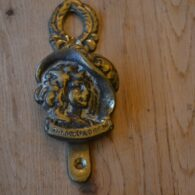 Dolly Varden Door Knocker D612-1119