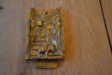 Antique Clovelly Door Knocker D331-1219 Antique Door Knocker Company