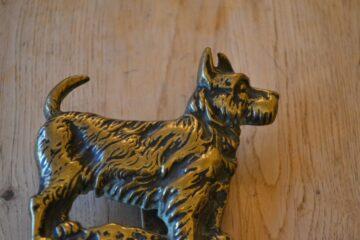 Antique Aberdeen Terrier Door Knocker D616-1219 Antique Door Knocker Company