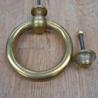 Traditional Brass Ring Door Knocker D628-0220 Antique Door Knocker Company