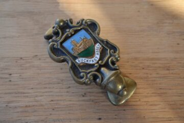 Buckfast Abbey Coat of Arms Door Knocker D275-0220
