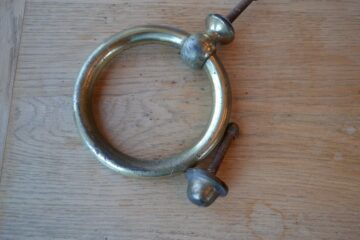 Large Ring Door Knocker D324-0220