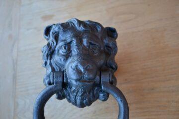 Lion Door Knocker D009L-0220