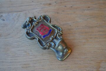 Jersey Coat of Arms Door Knocker-0220