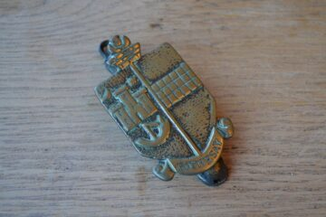 Rothesay Coat of Arms Door Knocker-0220