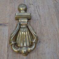 Victorian Brass Shell Door Knocker D623-0220 Antique Door Knocker Company