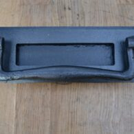 Cast Iron Letterbox and Door Knocker D624-0220 Antique Door Knocker Company