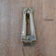 Arts & Crafts Style Door Knocker RD010L Antique Door Knocker Company