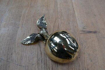 Brass Apple Door Knocker RD011L Antique Door Knocker Company