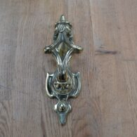 Brass Victorian Scroll Door Knocker RD016L Antique Door Knocker Company