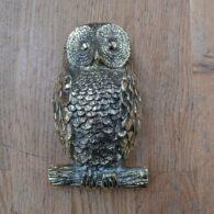 Large Brass Owl Door Knocker RD020L Antique Door Knocker Company