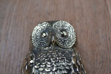 Large Brass Owl Door Knocker RD020L Antique Door Knocker Company