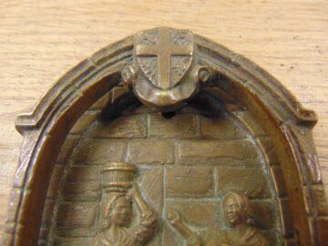 Dun Cow, Durham Cathedral Door Knocker - D351-0720 -Antique Door Knocker Company