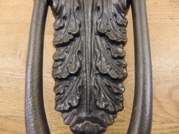 Acanthus Leaf Door Knocker D382L-0720 - Antique Door Knocker Co