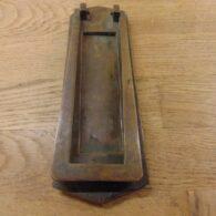 Art Deco Combination Letterbox - D487-0720 Antiqu Door Knocker Company