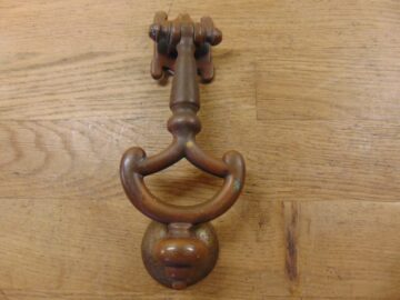 Art Nouveau Door Knocker - D629-0720 - Antique Door Knocker Company
