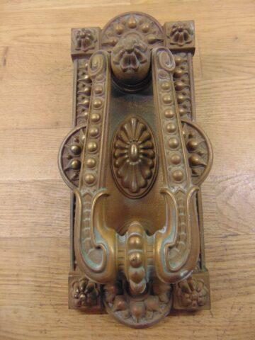 Large Victorian Door Knocker D010L-0920 - Antique Door Knocker Company