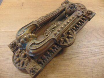 Extra Large Victorian Door Knocker D010L-0920 - Antique Door Knocker Company