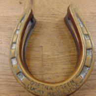 Gretna Green Horseshoe Door Knocker D442-0920 - Antique Door Knocker Company