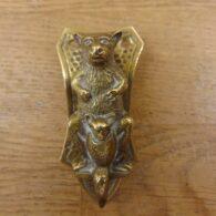 Brass Kangaroo Door Knocker - D011-0720 Antique Door Knocker Company