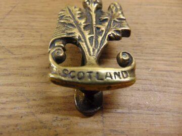 Scotland Door Knocker D201-1120 Antique Door Knocker Company