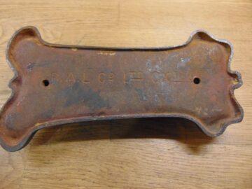 Cast Iron Art Nouveau Door Knocker - D252L-1120 Antique door Knocker Company