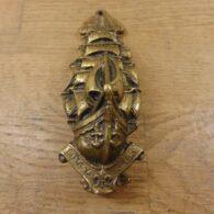 Brass Cutty Sark Ship Door Knocker - D325-0720 Antique Door Knocker Company