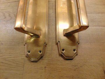 Art Deco Door Pulls D346L-1120 Antique Doorknocker Company