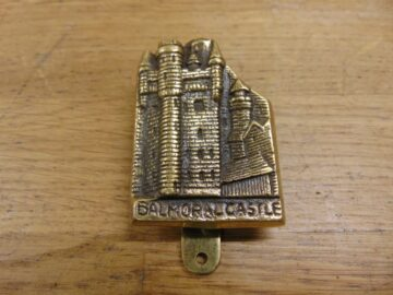 Balmoral Castle Door Knocker D464-1120 Antique Door Knocker Company