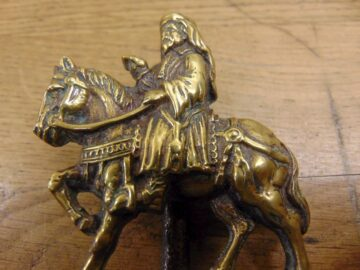 Geoffrey Chaucer Door Knocker - D032-1220 Antique Door Knocker Company