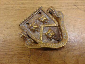 Stratford-upon-Avon Door Knocker - D164-1120 Antique Door Knocker Company