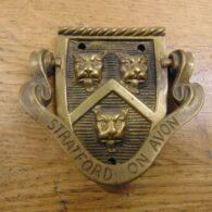 Antique Stratford-upon-Avon Door Knocker - D164-1220 Antique Door Knocker Company
