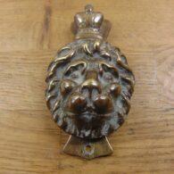Lion Door Knocker - D197-1220 Antique Door Knocker Company