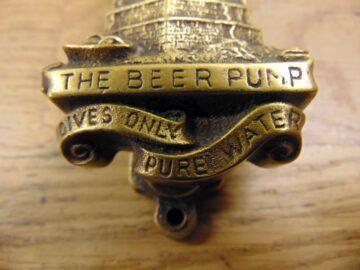 Antique Beer Pump Door Knocker - D398-1220 Antique Door Knocker Company