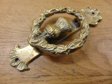 Thistle Door Knocker - D474-1220 Antique Door Knocker Company