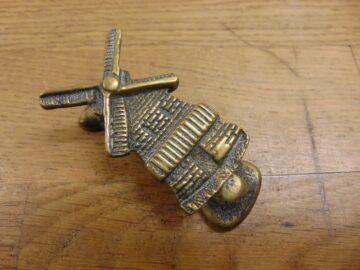 Antique Dutch Windmill Door Knocker - D485-1220 Antique Door Knocker Company