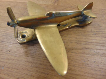 Spitfire Door Knocker - D573-1220 Antique Door Knocker Company