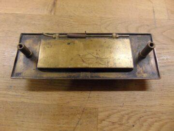 Art Deco Letter Box/Door Knocker - D595-1220 Antique Door Knocker Company