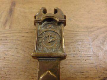 Grandfather Clock Door Knocker - D605-1220 Antique Door Knocker Company