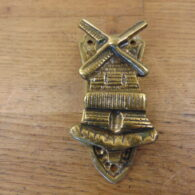 Brass Dutch Windmill Door Knocker - D628-1220 Antique Door Knocker Company