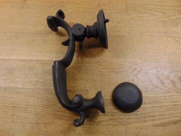 Cast Iron Doctor Door Knocker - RD009L Antique Door Knocker Company