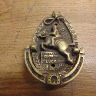Huntsman Door Knocker - D248-0121 Antique Door Knocker Company
