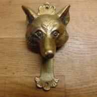Fox's Head Door Knocker - D477-0121 Antique Door Knocker Company