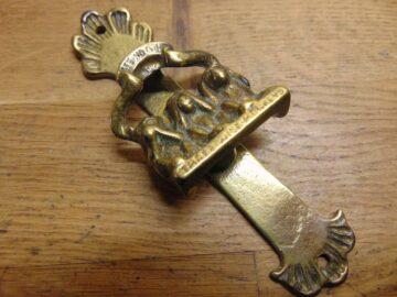 Three Wise Monkeys Door Knocker - D554-0121 Antique Door Knocker Company